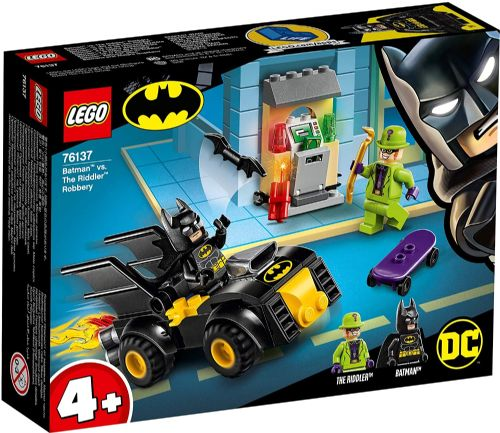 Batman VS The Riddler Robbery Batmobile